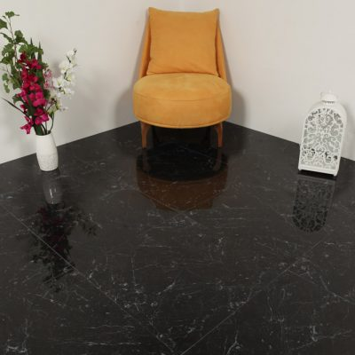 klinker carrara black 60x60