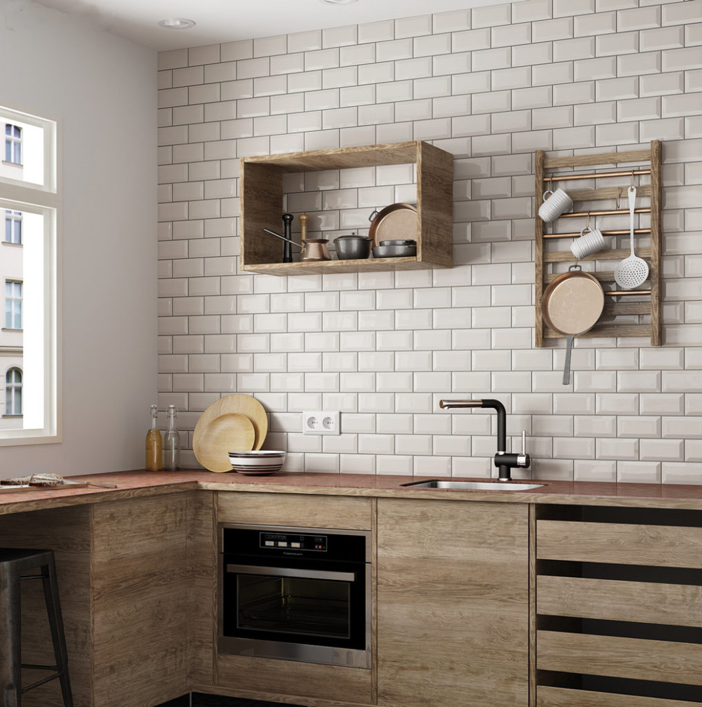 Beige Kitchen Accessories: Fliser, Klinker, Mosaik, Vægfliser