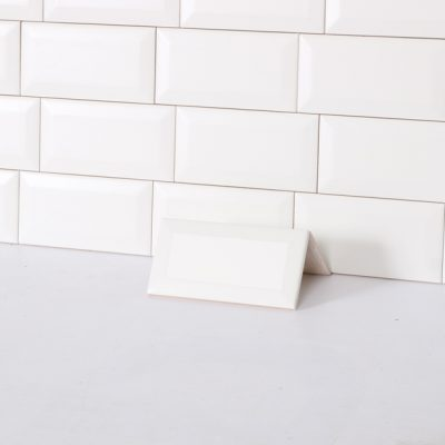 vægflise metro hvid mat 7,5x15