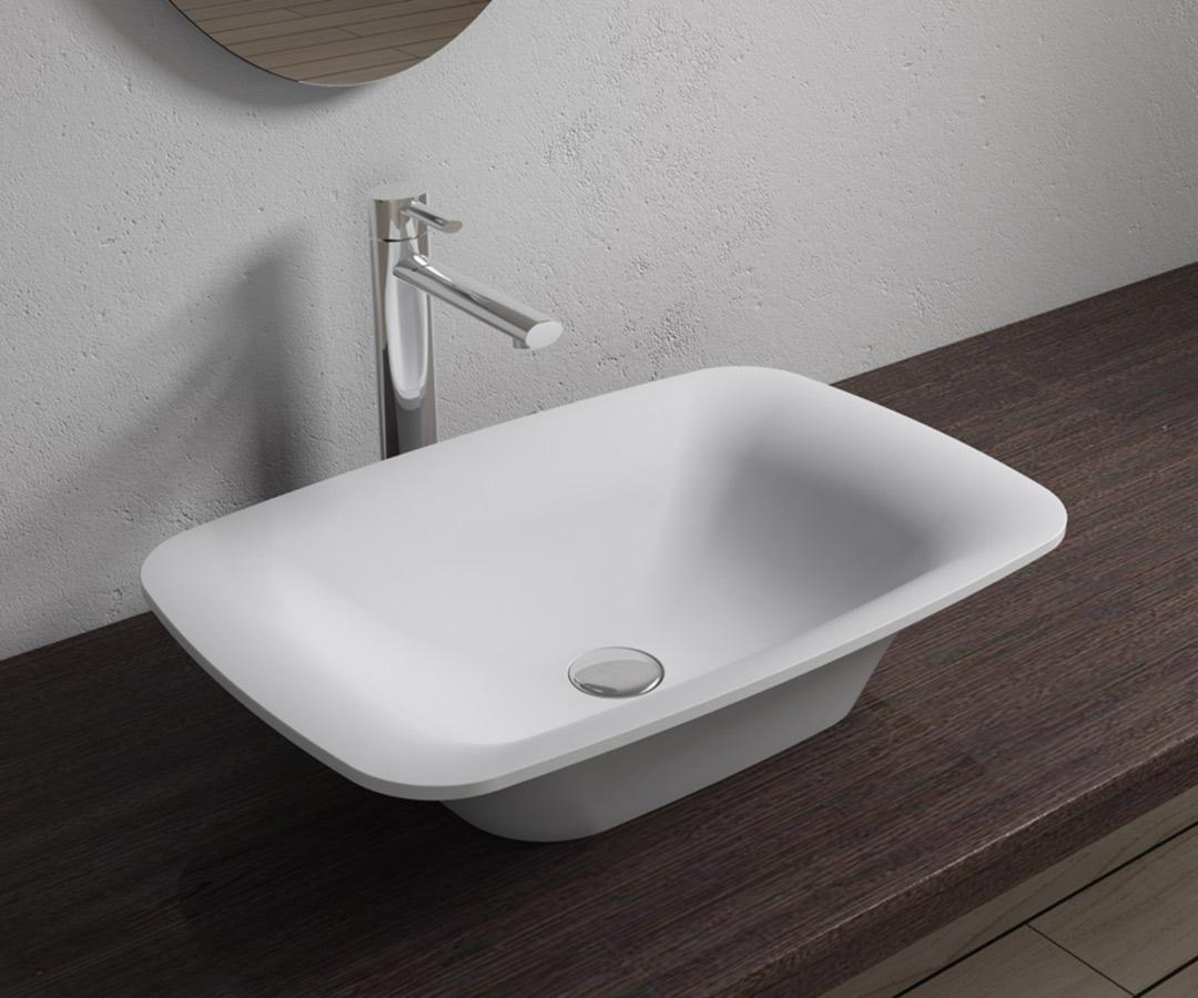 Afholte Håndvask Quandratum Mat - Fliser, Klinker, Mosaik, Vægfliser OR-09