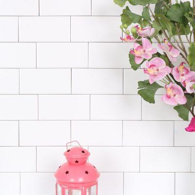vægflise hvid mat 7,5x15