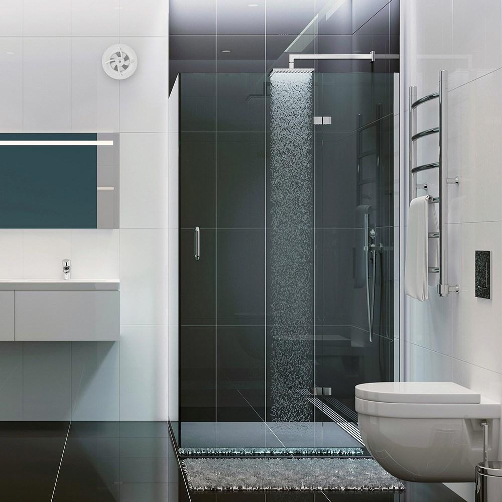 Fantastisk Badeværelses Ventilator Klimat K7 - Fliser, Klinker, Mosaik, Vægfliser BH56