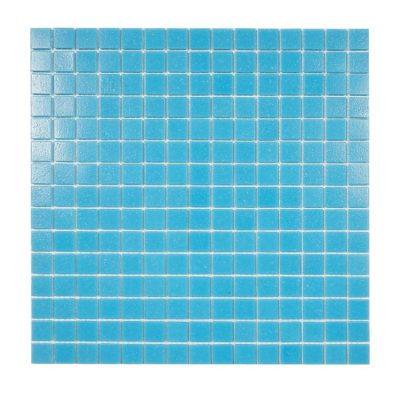 glasmosaik pool blue