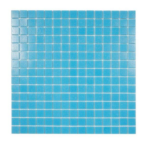 glasmosaik pool blue