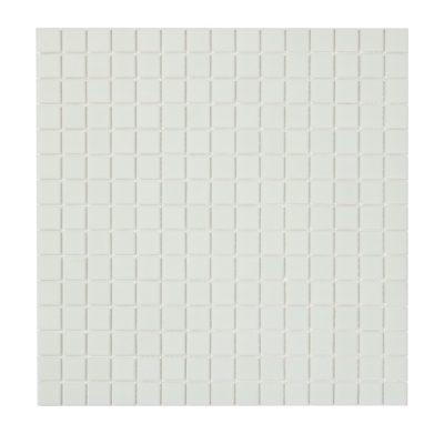 glasmosaik hvid