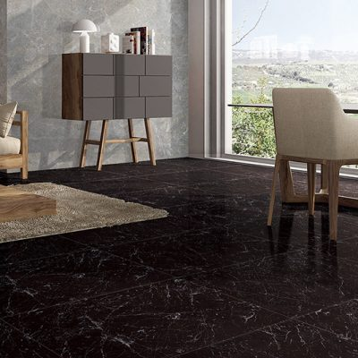 klinker carrara black 60x90